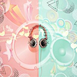 freetoedit music musicnotes headphones hdr