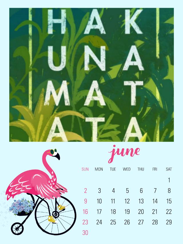 #freetoedit #hakunamatata #june #junio #hakuna_matata