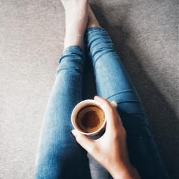 myphotography morning coffee legs girl freetoedit