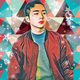 woo wonjae rapper korean freetoedit