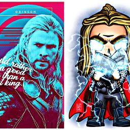thor odinson avengers chrishemsworth avengersendgame freetoedit