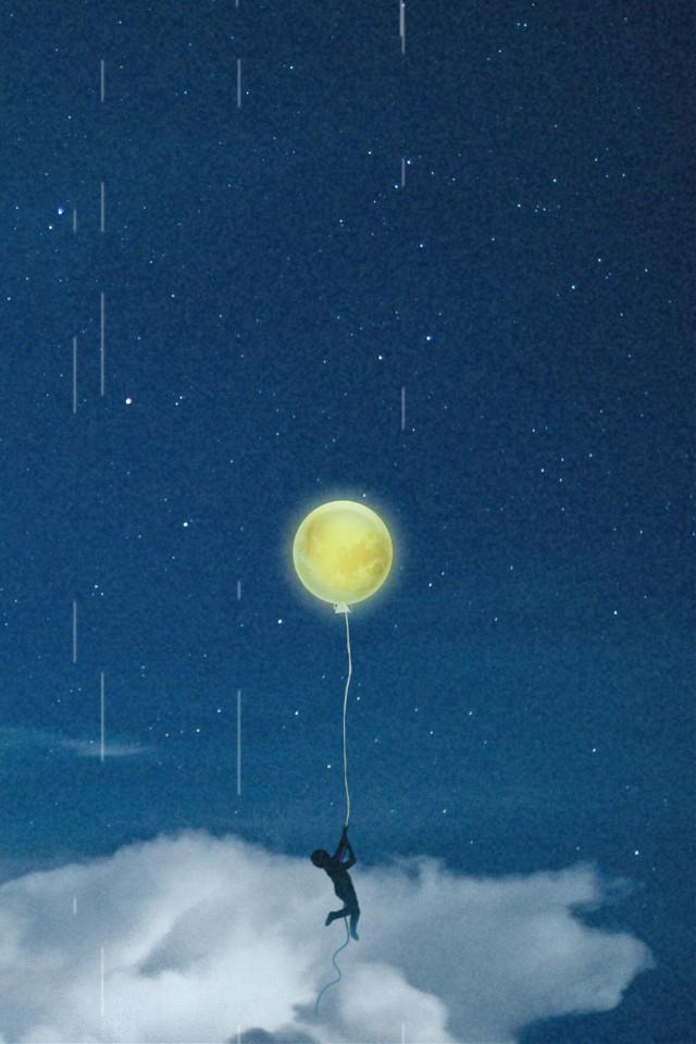 #freetoedit #clouds #galaxy #ballon #vhs #background #picsarteffects