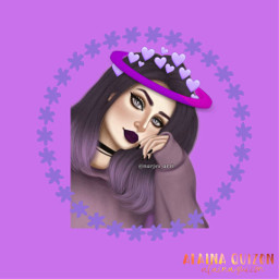 freetoedit purplehair purpleedit
