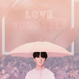 freetoedit coral jimin colorcoral loveyourself