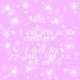 challenge challenges pink glitter