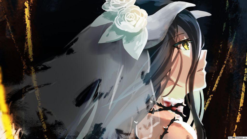 Freetoedit Albedo Overlord Anime Animegirl Animewallpap