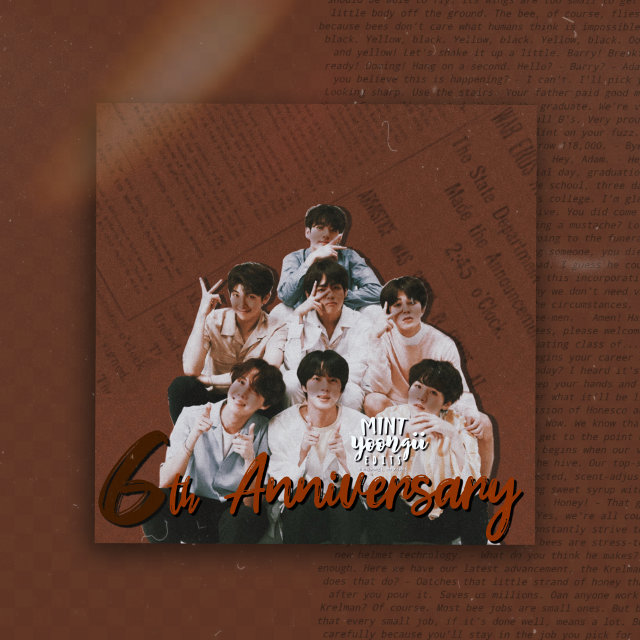 [ 💕: bts edit ]  ---   💓 sotd : BTS - No More Dream  ---  HAPPY 6TH ANNIVERSARY BANGTAN SONYEONDAN! 🎉  You wont see this but I just want to say thank you for being my emotional support since the day I found you. I was very glad it was on my recommendation that time. I never expected that I'll be stanning BTS that I don't even know how, why and when did I stan them, i just did. It was one of the greatest unexpected that happened to me. I'm not there at the very beginning but don't worry, I'll be here until the end. ( I actually wrote a lot and it took me like an hour but when I posted it, it vanished 💀 So yeah i made a short one again since I'm actually late for it )  --- #6thanniversary #btsanniversary #bts #btssedit #btsv #btssuga #btsrm #btsjin #btsjimin #btsjungkook #btsjhope #bangtansonyeondan