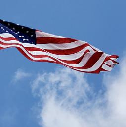 americanflag waving windy stripes redwhiteandblue freetoedit pcflagday