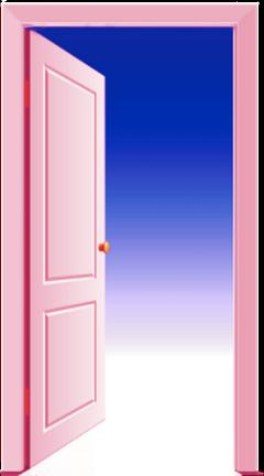 door pink paradise sky clouds freetoedit