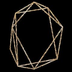 gold frame border modern freetoedit