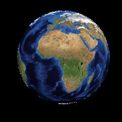 ftestickers globe planet earth blue freetoedit