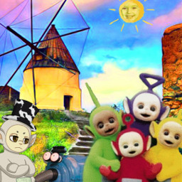 teletubbies slendytubbies aftermath normal good freetoedit