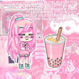 freetoedit pinkaesthetic gachalifeedit update latepost