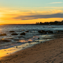 freetoedit naturephotography oceanscape sunsetsilhouette