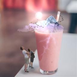 freetoedit milkshake tinyworld tinypeople myedit