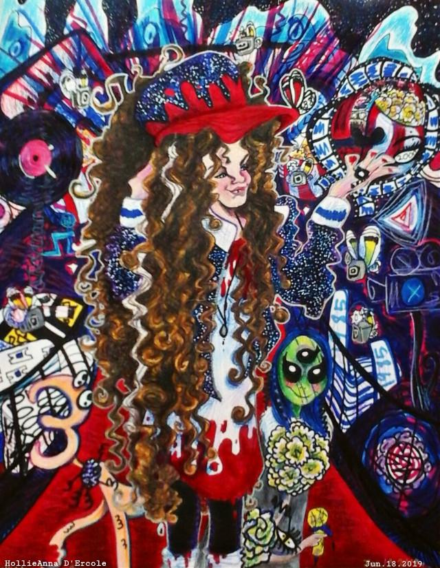 Finished Spiral of The Third Millennium Charlie drawing!!  In this drawing Charlie is showing of her talents in the theatre.  She is walking down the red carpet with a bunch of paparazzi butterflies taking pictures of Charlie.  #drawnbyme #drawing #drawn #drawings #drawingskillz #drawnbyhand #art #artist #art by me #parisjackson #paris #curly hair #kinkycurly #curlyhead #curlyhairgirl #curlygirl #curlyhairdontcare #naturalhair #waardenburg #dustinhenderson #dustinstrangerthings #girl #strangerthings #blueeyes #syndrome #unique #alien #aliens #alien👽 #alieninvasion #hollipolliyozza #spiralofthethirdmillennium #picsart #followme #acting #theatre #cute #idk #love #Madonna #strut #sheenaeaston #michaeljackson #strangerinmoscow #1985 #wearetheworld #healtheworld #scenehair #scenekid #scenegirl #scenealien #space #curls #curlyvibes #artstyle #original #originalcharacter #originalart #deviantart @fishygalaxy @corgiiq @bigijackson