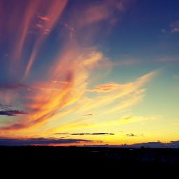 sunset sky june neighborhood photobyme