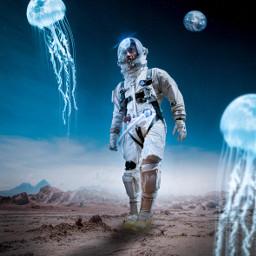 imagine picsart moon astronaut picoftheday