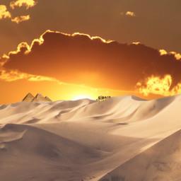 freetoedit desert desertsky sky pyramid ircdesert