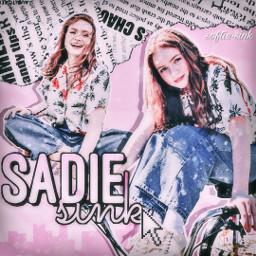 freetoedit sadiesink strangerthings sadie sink