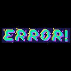 error vhs tumblr glich huji freetoedit