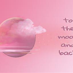 freetoedit pink pinkgradient gradient tothemoonandback