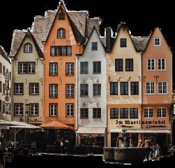 sticker ftesticker houses buildings freetoedit