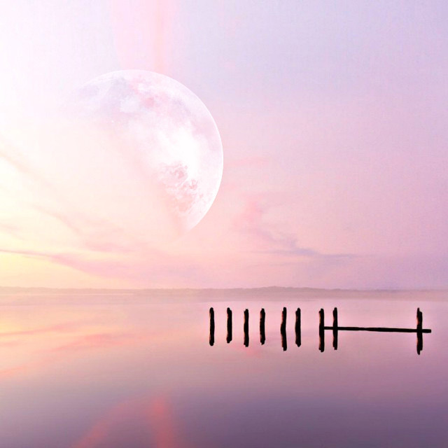 #freetoedit         https://youtu.be/62Ng9TnhlIE#amazing #pink #color #background #moon