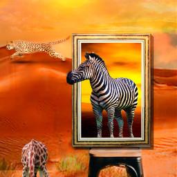 freetoedit pictureframe 3deffect stereoscopic nature ircremixboard