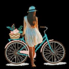wheel girl people bicycle bike freetoedit scwheel