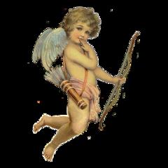 cupid angel art arte painting freetoedit