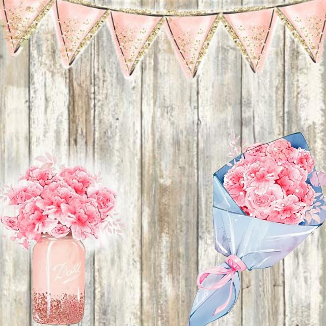 #card #invitation #specialoccasion #birthday #anniversary #graduation #watercolor #flowers #jar #banner #pastel #pink #wooden #background #bouquet #watercolor #glitter #blue #gold #rustic #masonjar #savethedate #Jesus @stephaniejordan53
