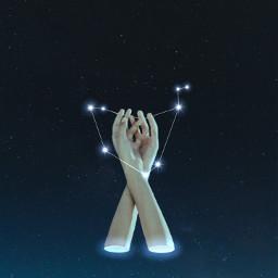 freetoedit capricorn zodiac sign hands