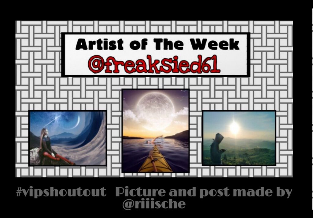 Congratulations to the #vipshoutout and Artist of the Week gallery of @freaksied61  Picture Anand and Shout Out post made by @riiische  Picture URLs for remixing the above edits...  1. https://picsart.com/i/269820645017201 2.  https://picsart.com/i/292398656016201 3.  https://picsart.com/i/293357057011201  #nofeature  #freetoedit
