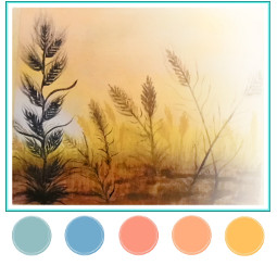 freetoedit ecpaletteshow paletteshow watercolor painting