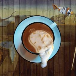 freetoedit salvadordali clock coffee irccoffeetime