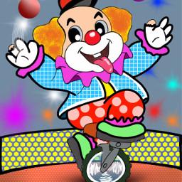 freetoedit dcclowns clowns