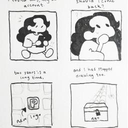comic sketch art
