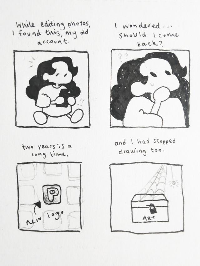 1/2 #comic #sketch #art