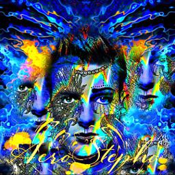 manportrait conceptart colorful psychedelic aerostepho eccolorfulkaleidoscope colorfulkaleidoscope