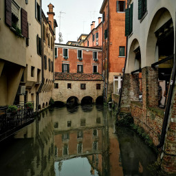 treviso italy canal city water