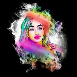 freetoedit remix rainbowmagiceffect smokeeffect