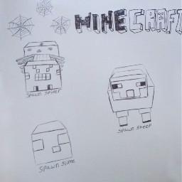 freetoedit 2016 minecraft game drawing