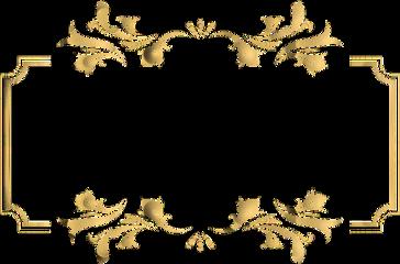 freetoedit frame ornate golden vintage