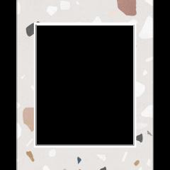 instagram terrazzo abstract modern frame freetoedit