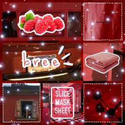 freetoedit red nameaesthetics watermelon raspberry