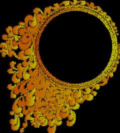 pictureframe frame golden ornate freetoedit