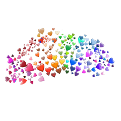 hearts heart heartcrown emoji colors freetoedit