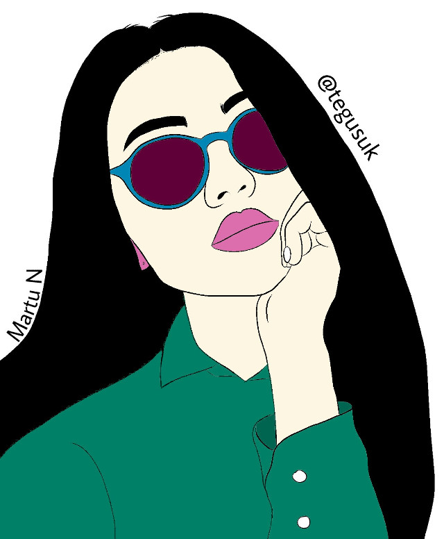 www.instagram.com/tegusuk #teğuşuk #tegusuk #drawing #illustration #illustrator #vertical #painting #paintedbyme #paintedlady #girl #woman #women #girls #freetoedit #paint #painting/drawing #glasses #sunglasses