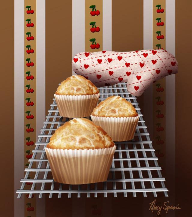 #mydrawing #surreal #kitchen #cooking #breakfast #muffins #freetoedit #drawnwithpicsart #drawingtools #layers